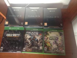 vendo juegos de xbox one nuevos sellados