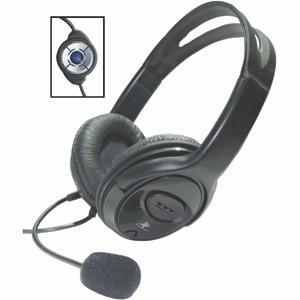 Diadema Con Microfono Star Tec Usb St-hp-20u