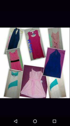Lote D 6 Vestidos Nuevo Y Usados X