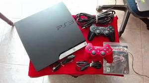 PS3 PROGRAMADA 160GB 2 CONTROLES