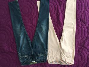 Pantalon Gef Talla 4 Y Jean Talla 6/8 los 2 x $
