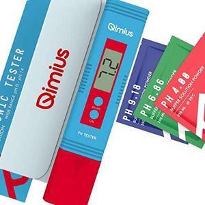 Qimius Digital Medidor De Ph | Alta Precisión Probador Ph D