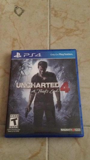 Uncharted 4 para Playstation 4