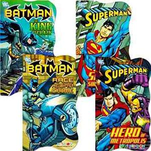 Dc Comics Batman Vs Superman Mesa Libros Para Niños