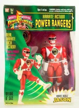 Figura De Acción Power Rangers Karate Acción Jason Rojo