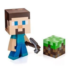 Figura De Vinilo Jinx Steve Minecraft Envío Gratis