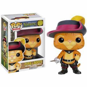 Funko Pop  Pop Cine: Shrek, El Gato Con Botas