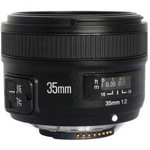 Lente Yongnuo Yn35mm F2 Fijo Para Camaras Nikon