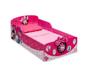 Cama Infantil Interactiva Madera, Delta Disney Minnie Mouse