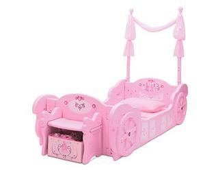 Cama Niña Delta Children Disney Princess Carriage Toddler