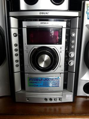 Equipo de Sonido Sony Genezi Mhcgnx80