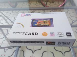 Flashcard Supercard + Micro Sd 1gb Gba/gba Sp/ Micro / Nds