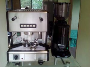 Maquina de Cafe Espreso Y Capuchino Automatica Y Molino de