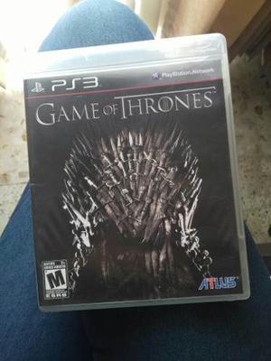 Ps3 Game Of Thrones Como Nuevo - Juego De Tronos Ps3