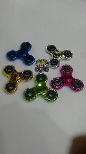 Fidget Spinner,colores Metalizados Antiestres, Juego