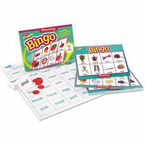 Juego De Bingo De Aprendiz Joven De Tendencia, Palabras