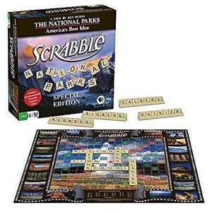 Juego Scrabble Parques Nacionales