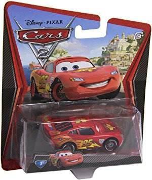 Juguete Disney/pixar Cars 2, Lightning Mcqueen With Racing
