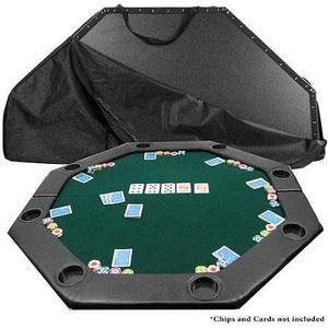 Marca Poker 51 X 51 Octágono Acolchado Mesa De Poker,