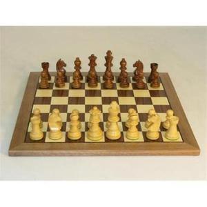Tablero De Ajedrez Worldwise Chess En Madera Nogal / Arce
