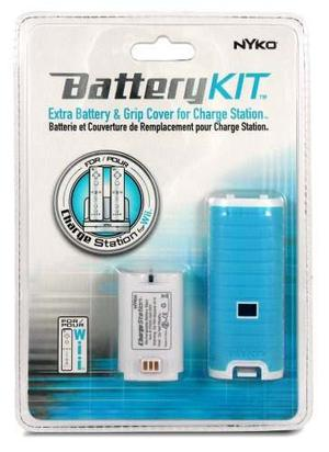 Wii Cargador Kit De Batería De Estadísticas (los Colores