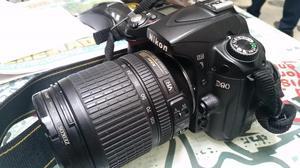 VENDO! Camara Reflex Nikon D90 lente mm VR