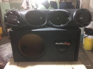 sonido caja para bajo