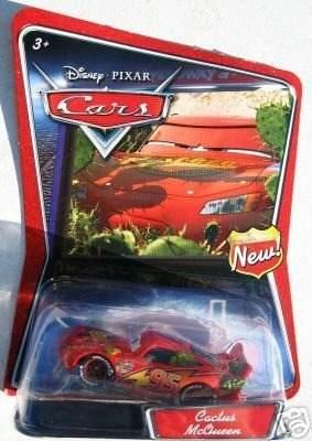 Disney Pixar Cars: Cactus Mcqueen !
