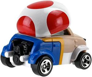 Hot Wheels Hot Wheels Mario Bros. Toad Car Vehicle !