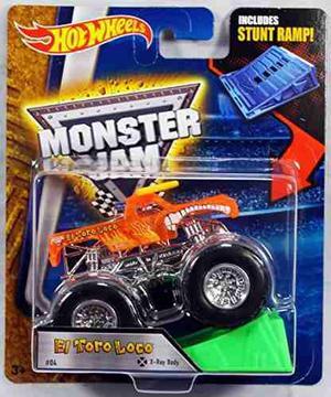 Hot Wheels Monster Jam 1:64 Scale - El Toro Loco !