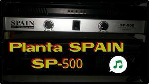 Planta de Sonido Spain Sp500