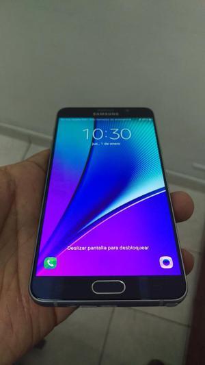 Samsung Note 5 Azul Y Gris 32gb 3gb Ram