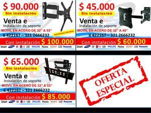 Venta Bases Y Soportes de Tv Bucaramanga