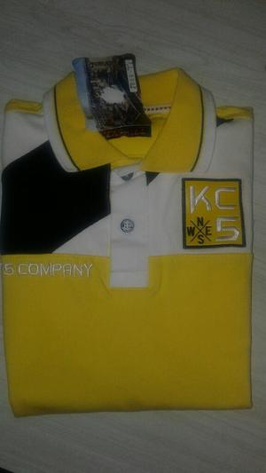 Camisa Niño Amarilla Americana