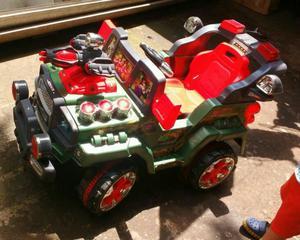 Carro de Bateria con Control Remoto