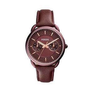 Reloj Fossil Es Cuero Rojo Mujer