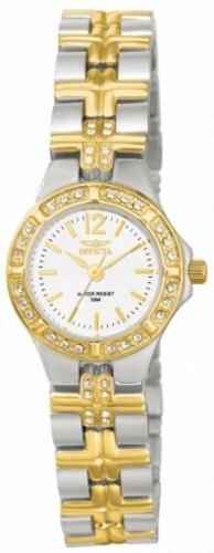 Reloj Invicta 127 Acero Plateado Y Dorado Mujer