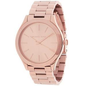 Reloj Michael Kors Para Mujer Rosa De Cacero Inoxidable
