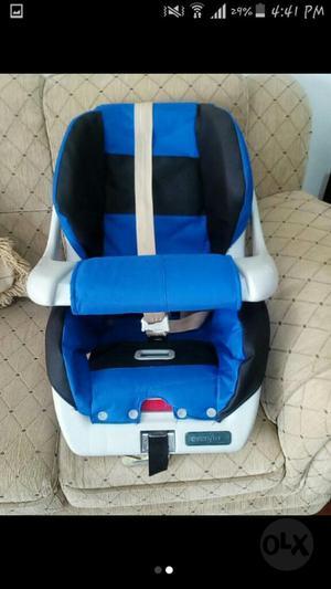 Silla de Carro para Bebe Marca Evenflo!