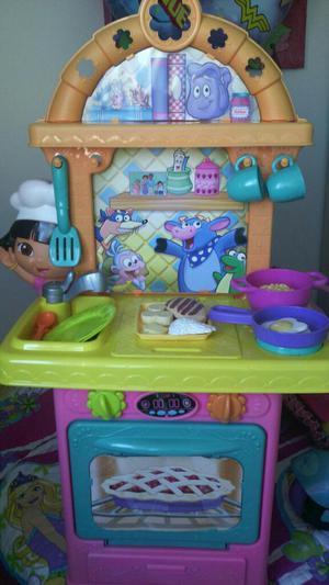 Cocina fisher price dora la exploradora envio posot class - Dora la exploradora cocina ...