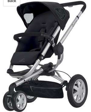 Vendo coche y silla para carro y adaptadores marca quinny