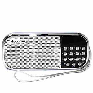Aocome Portable Mini Speaker Music Player With Fm !