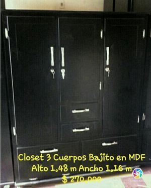Closet en Mdf
