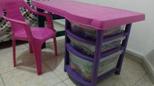 Escritorio infantil posot class - Silla escritorio infantil ...