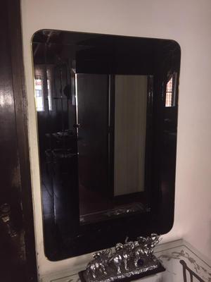 Espejo con marco posot class for Espejo marco negro