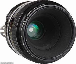 Lente Macro Nikon Ia 55mm F3.5 Nikon F1, F2 Y F3 Y Digital
