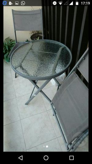 Juego de mesa y sillas para balcon posot class - Sillas para balcon ...