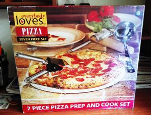 Set x 6 piezas utensilios de cocina en nylon posot class for Utensilios pizza