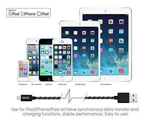 [apple Mfi Certified] Lightning To Usb Cable, !