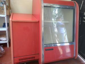 se vende mostrador refrigerador